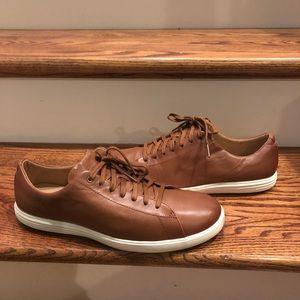Cole Haan men's brown leather casual sz 9 medium